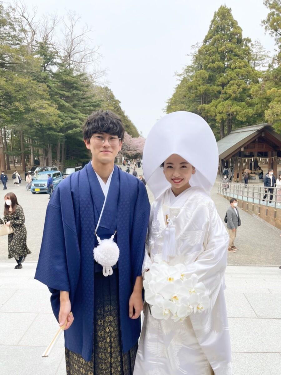 北海道神宮挙式🌸